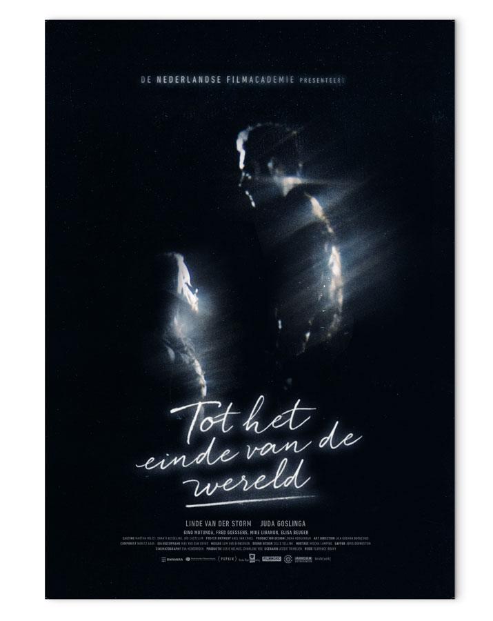 Tot het einde van de wereld. Film Poster