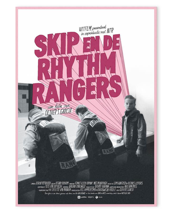 Skip_En_De_Rhythm_Rangers_Poster_Abel_van_Erkel_01