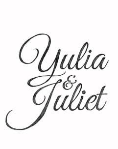 Yulia en Juliet Typografie