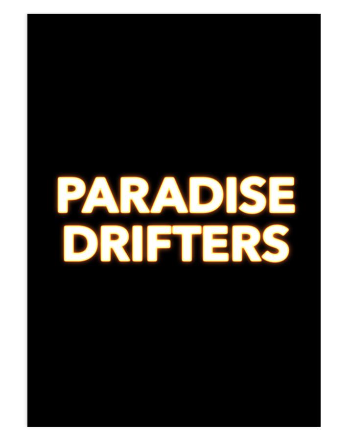PARADISE DRIFTERS 2020 (Mees Peijnenburg) - Title Design