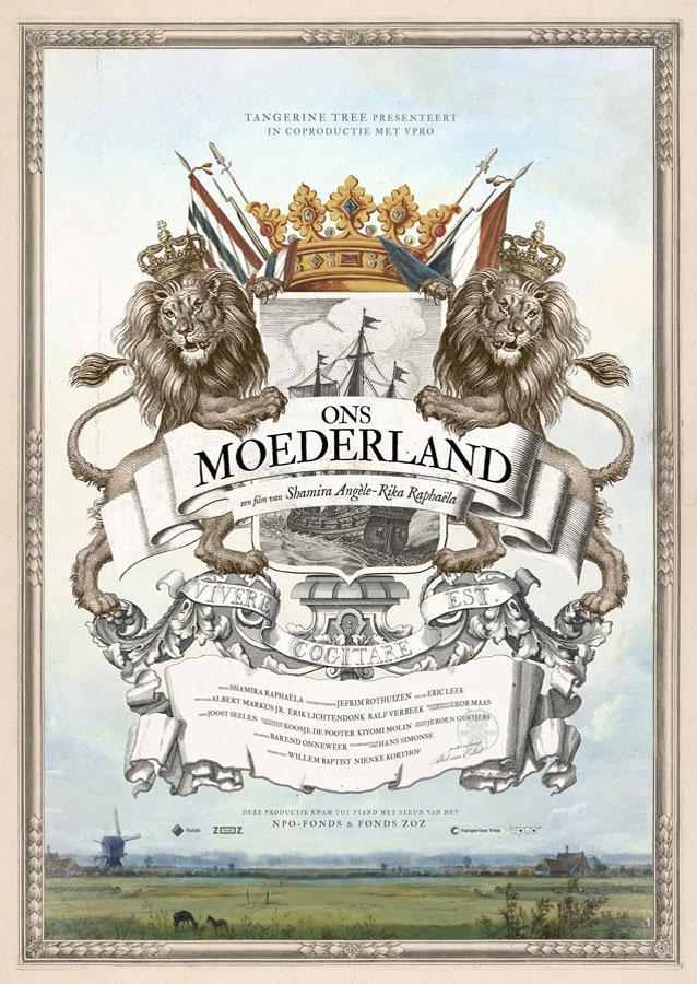 Ons Moederland - Poster