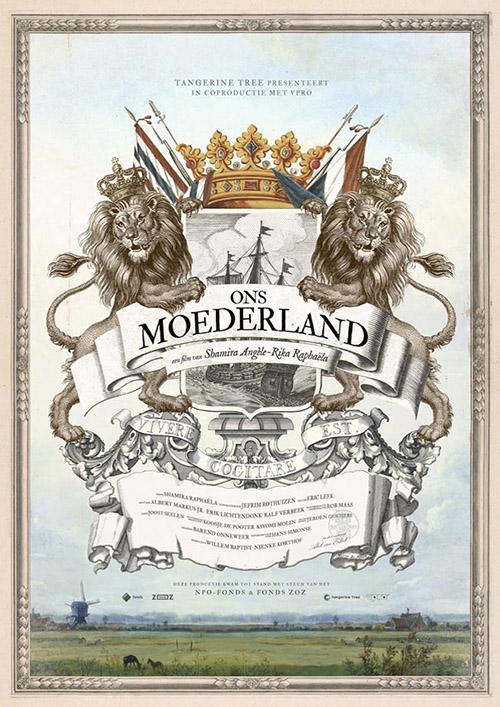 Ons Moederland Film affiche